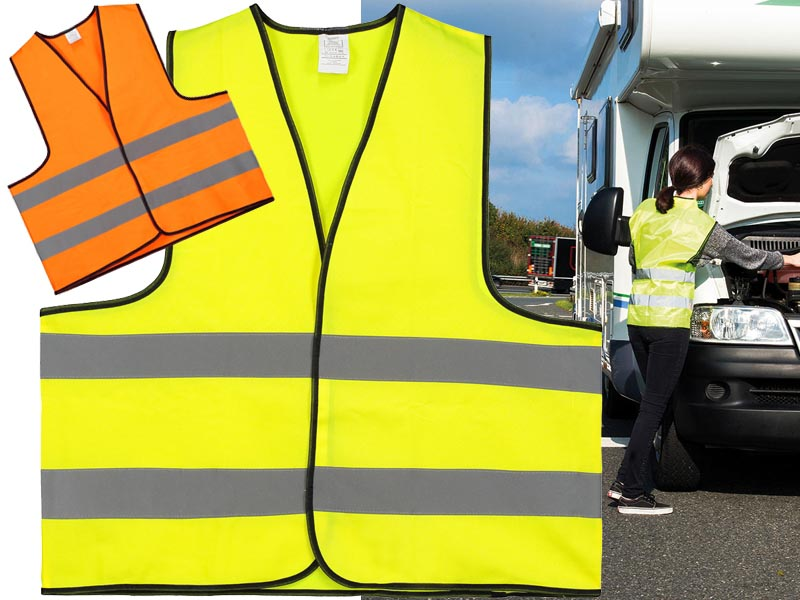 Safety jacket maten: m en xl