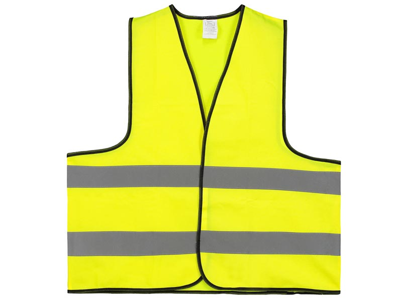 Safety jacket maten: m en xl met bedrukking