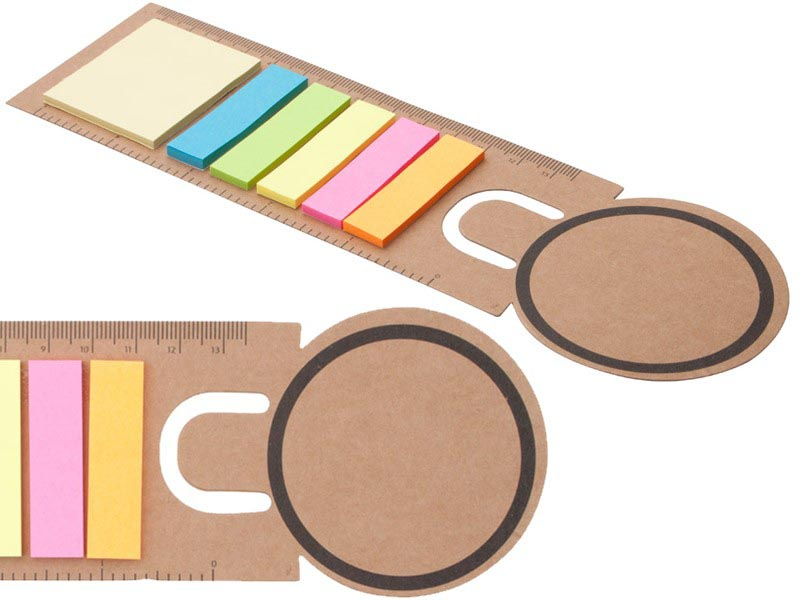 Boekenlegger tete sticky notes