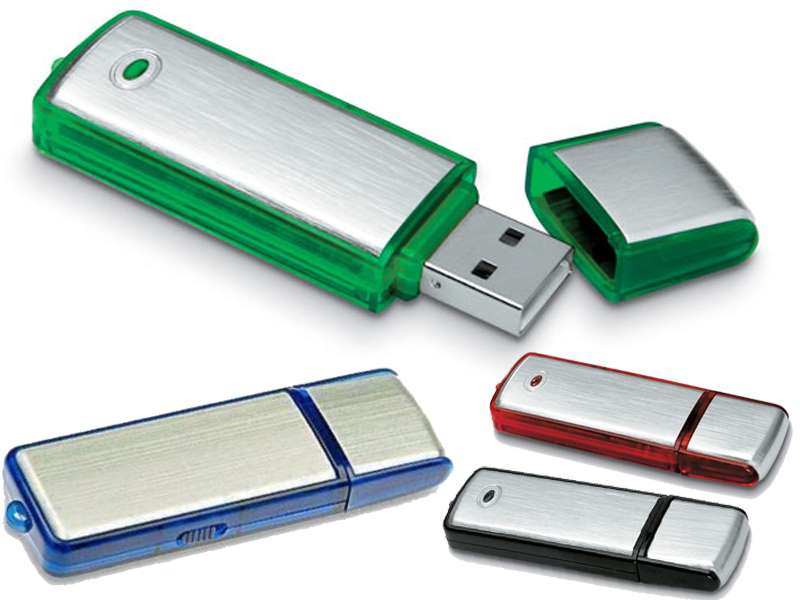 Usb-stick in metalen behuizing 4gb triled - IMG2