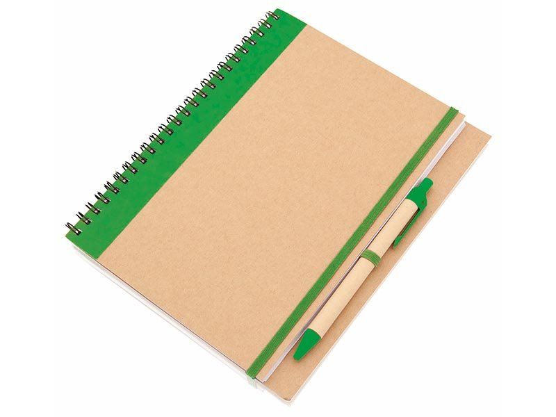 Notebook 60 pagina's recycled papier - IMGc