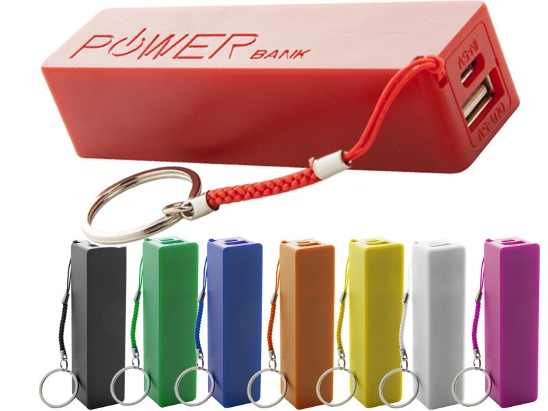 Plastic usb power bank met 2000mah accu - IMG7