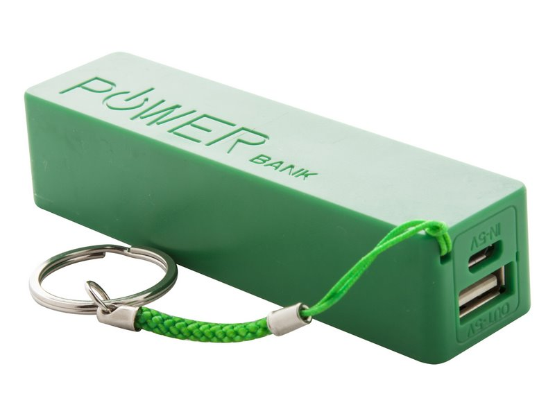 Plastic usb power bank met 2000mah accu - IMGa
