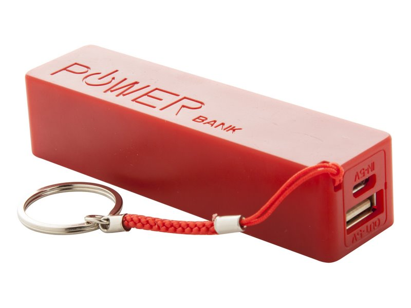Plastic usb power bank met 2000mah accu - IMGi