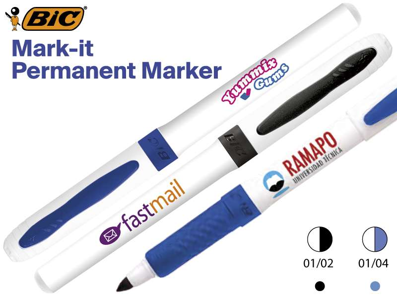 Bic© mark-it permanente markeerstift