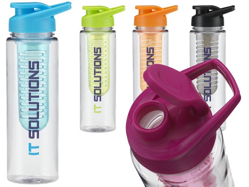 Waterfles met infuser. 700 ml