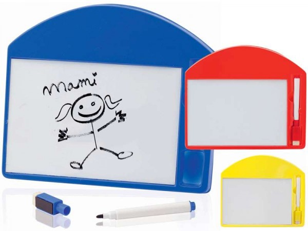 Whiteboard met viltstift en wisser